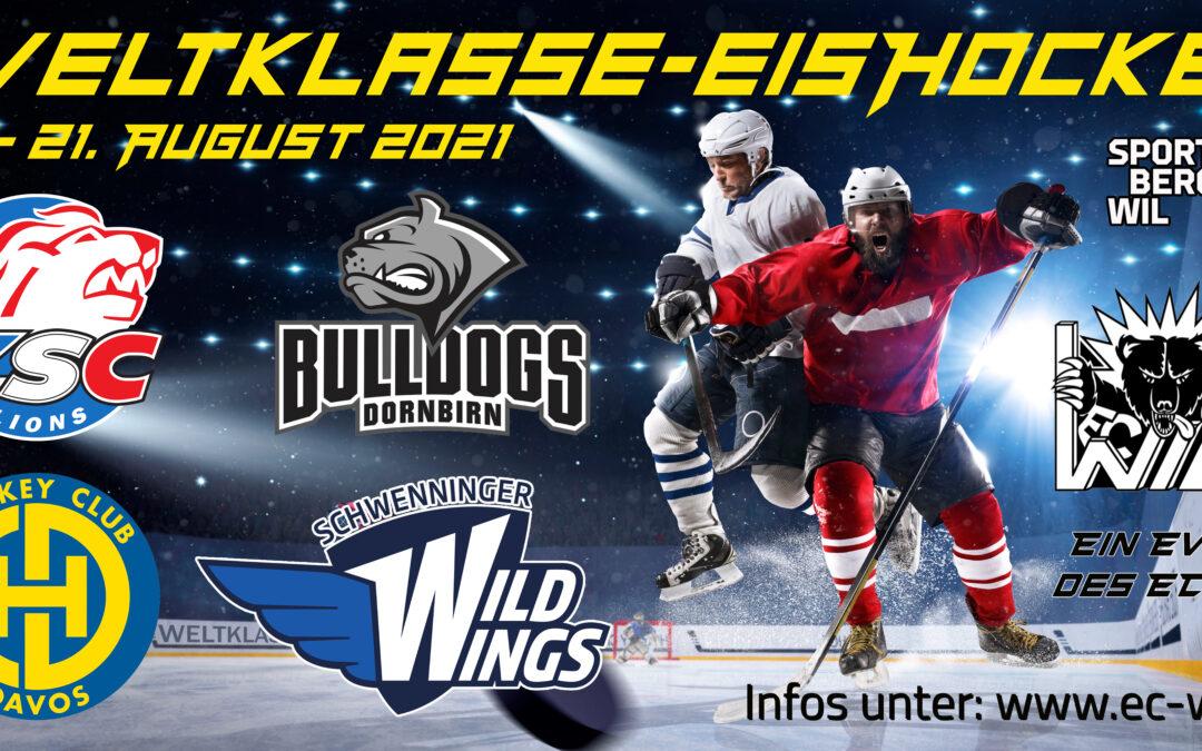 Tickets Weltklasse-Eishockey verfügbar !!