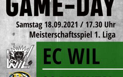 Meisterschaftsstart    1.Liga EC Wil – SC Rheintal